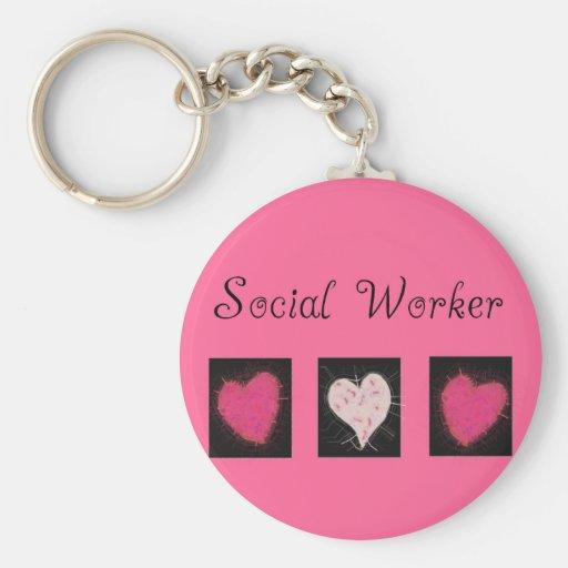 Sozialarbeiter-Geschenke Schlüsselbänder