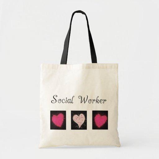 Sozialarbeiter-Geschenke Einkaufstasche