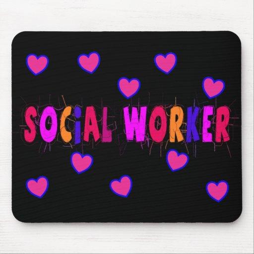 Sozialarbeiter HERZEN Mousepads