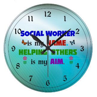 Sozialarbeiter ist mein Name Uhr