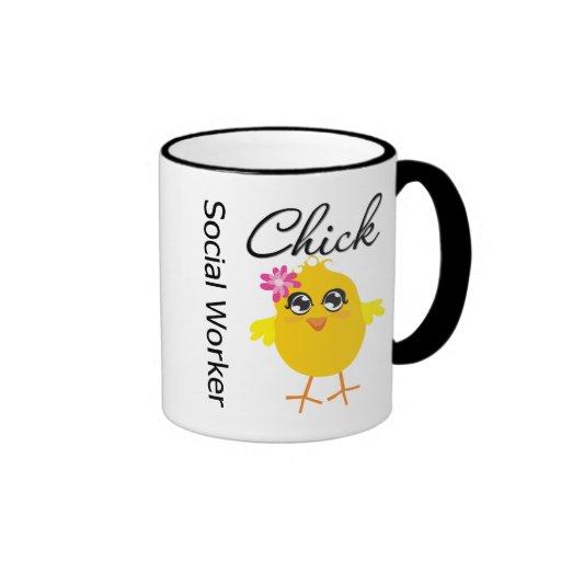 Sozialarbeiter-Küken Tee Haferl