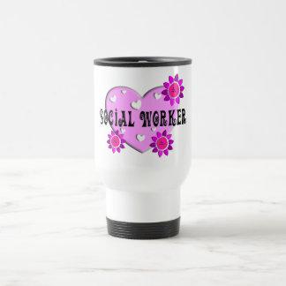Sozialarbeiter-Reise-Tasse