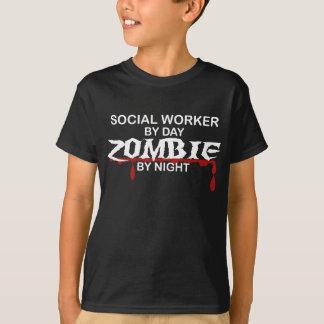 Sozialarbeiter-Zombie T-Shirt