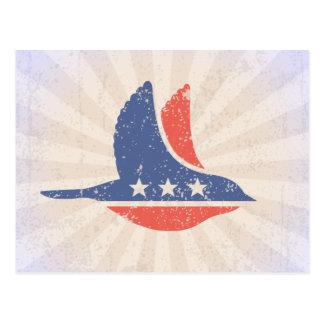 Sozialdemokrat-Logo Postkarte