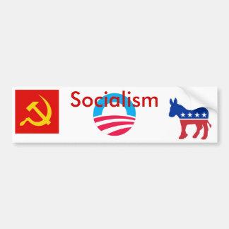 Sozialismus Autoaufkleber