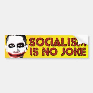 Sozialismus ist kein Witz - Autoaufkleber