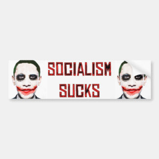 Sozialismus ist zum Kotzen Autoaufkleber