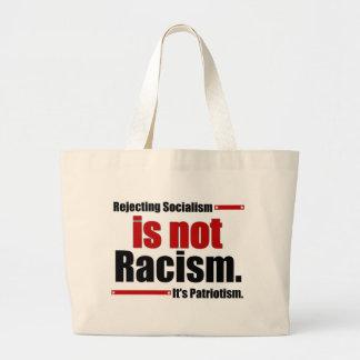 Sozialismus zurückzuweisen ist nicht Rassismus… Jumbo Stoffbeutel