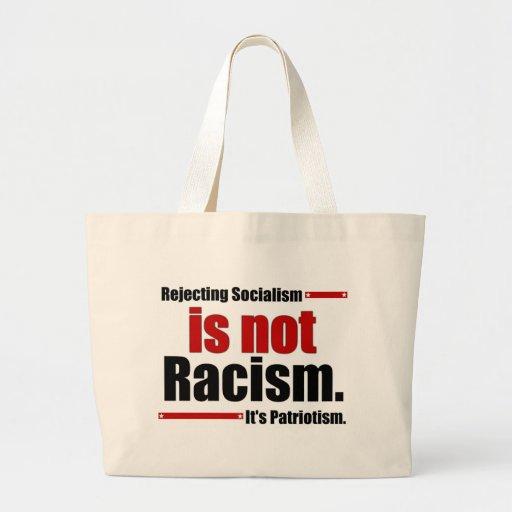 Sozialismus zurückzuweisen ist nicht Rassismus… Einkaufstasche