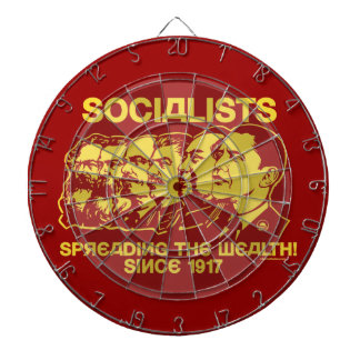 Sozialisten: Verbreiten der Reichtums-Pfeil-Brett- Dartscheiben