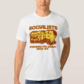 Sozialisten: Verbreiten des Reichtums-Shirts Hemd
