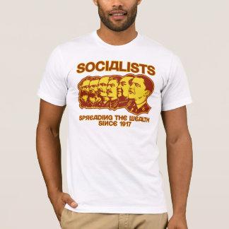 Sozialisten: Verbreiten des Reichtums-Shirts T-Shirt