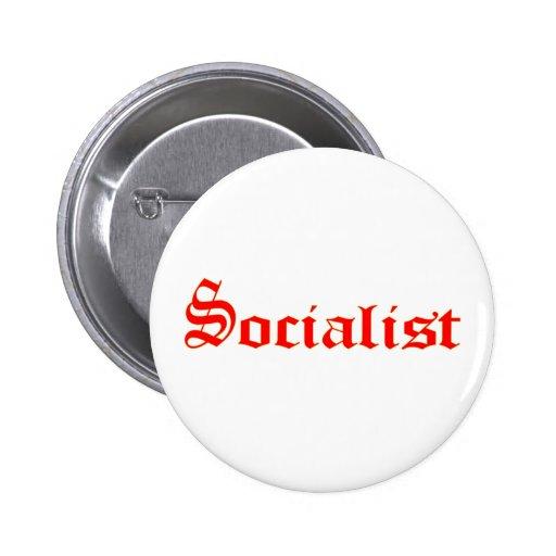 Sozialistisch Anstecknadelbuttons