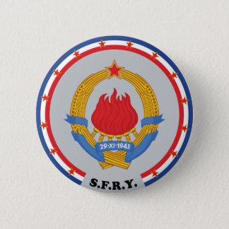 Sozialistische bundesstaatliche Republik von Runder Button 5,7 Cm