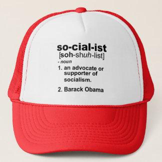 sozialistische Definition Truckerkappe