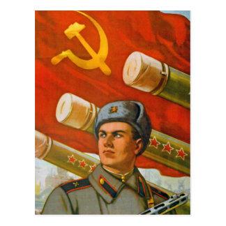 Sozialistische neue Jahre der Karten-3 Postkarte