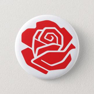 Sozialistischer Rosen-Knopf Runder Button 5,7 Cm