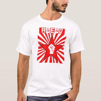 Sozialistischer - roter Stern - Kommunist - T-Shirt