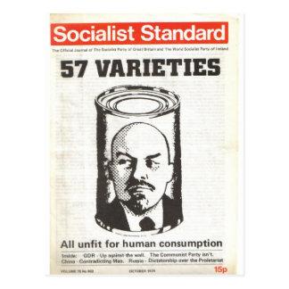 Sozialistisches Standardim Oktober 1979 Postkarte