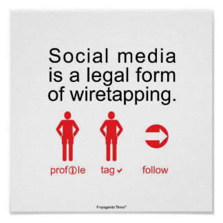 Sozialmedien Poster