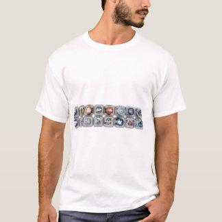 SozialmedienGeek Techie Shirt-heiße Grafiken! T-Shirt
