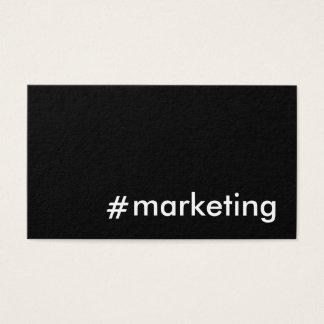 Sozialmedium-Marketing Visitenkarte