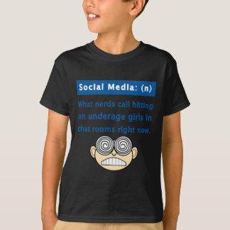 Sozialmedium-Nerd T-Shirt