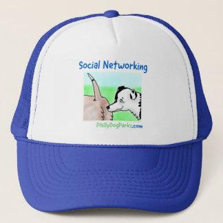 Sozialvernetzung Truckerkappe