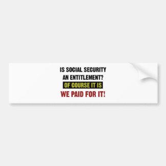 Sozialversicherung ist eine Bezeichnung, wir Autoaufkleber