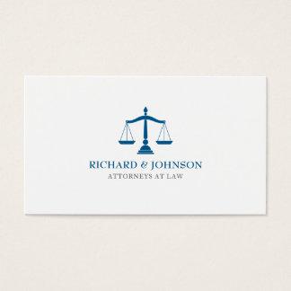 Sozietäts-blaue Skalen des Visitenkarte
