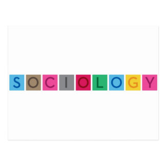 Soziologie Postkarten