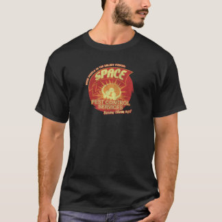Space pest Kontrolle services NETZ T-Shirt