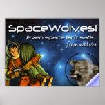 SpaceWolves!: Das Plakat
