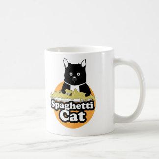 Spaghetti-Katze Kaffeetasse
