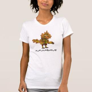 Spaghetti-Spitze der Damen-Kukulkanicus T-Shirt