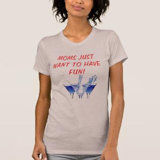 Spaghettibehälter für Mammen, die gerade wollen, T-Shirt