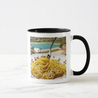Spaghettis Carbonara Tasse