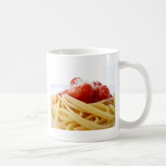 Spaghettis Kaffeetasse