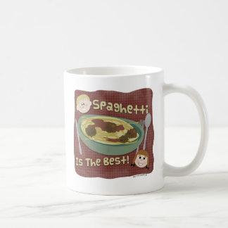 Spaghettis sind das Beste! Kaffeetasse