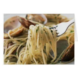 Spaghettis Vongole Bianco Karte