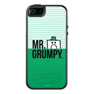 Spähender Kopf Herr-Grumpy | über Namen 2 OtterBox iPhone 5/5s/SE Hülle