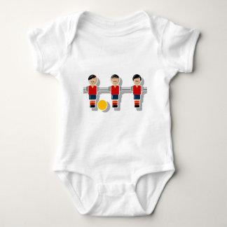 Spain foosball baby strampler