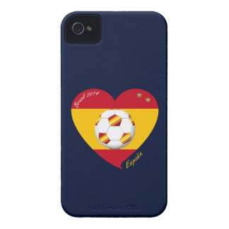Spain Football Spanish Soccer Team FUSSBALL Case-Mate iPhone 4 Hülle