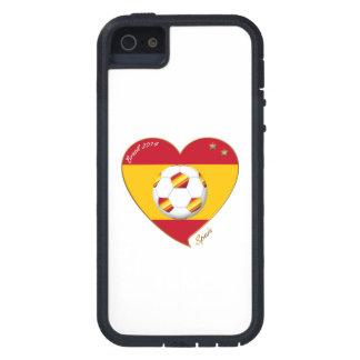 """SPAIN"" FOOTBALL Spanish Soccer Team FUSSBALL SPAN iPhone 5 Hülle"