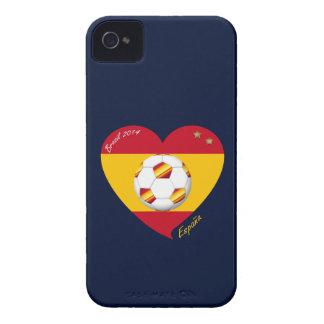 "Spain Football Spanish Soccer Team FUSSBALL ""SPANI Case-Mate iPhone 4 Hülle"