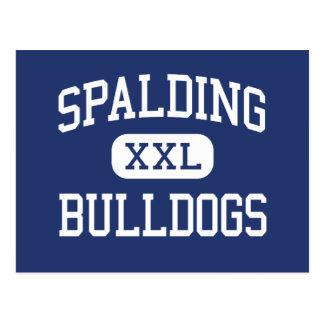 Spalding - Bulldoggen - hoch - Chicago Illinois Postkarte
