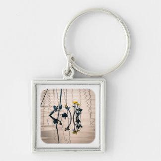 Spalte-getonte kingcup Blumen Schlüsselanhänger