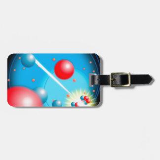 Spaltung des Atoms Gepäckanhänger