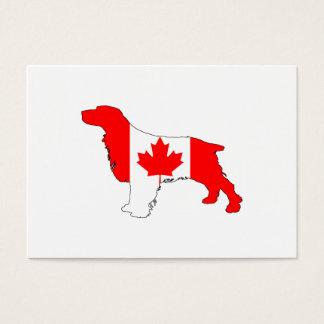 Spaniel Kanada Visitenkarte