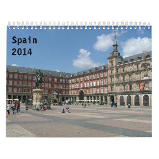 Spanien 2014 wandkalender